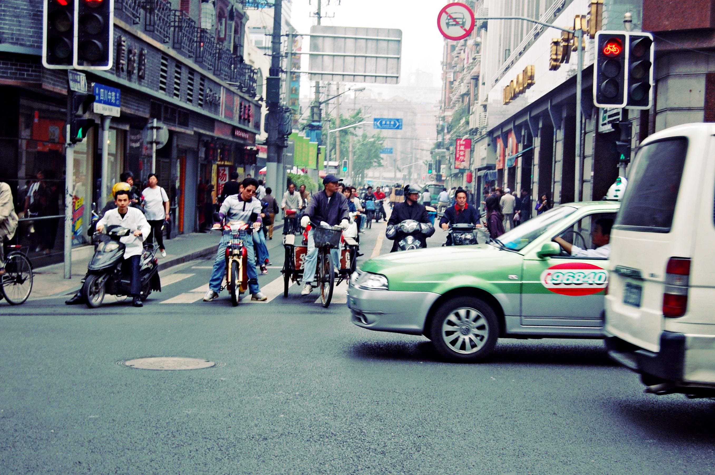 Pudong_China_street