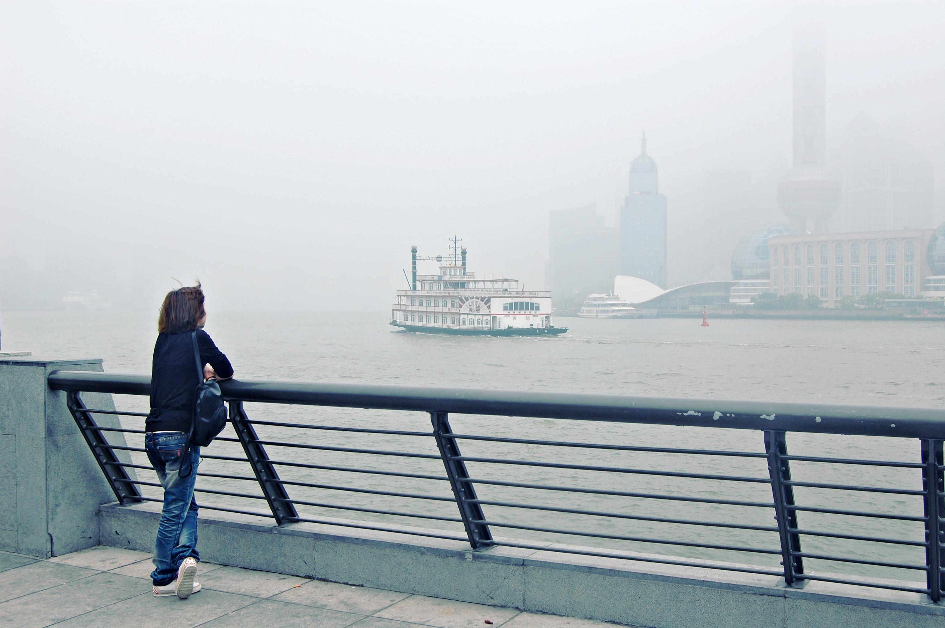 Pudong_China_river