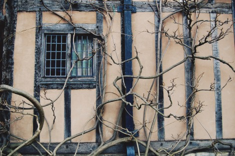 Old houses in Stratford-upon-Avon