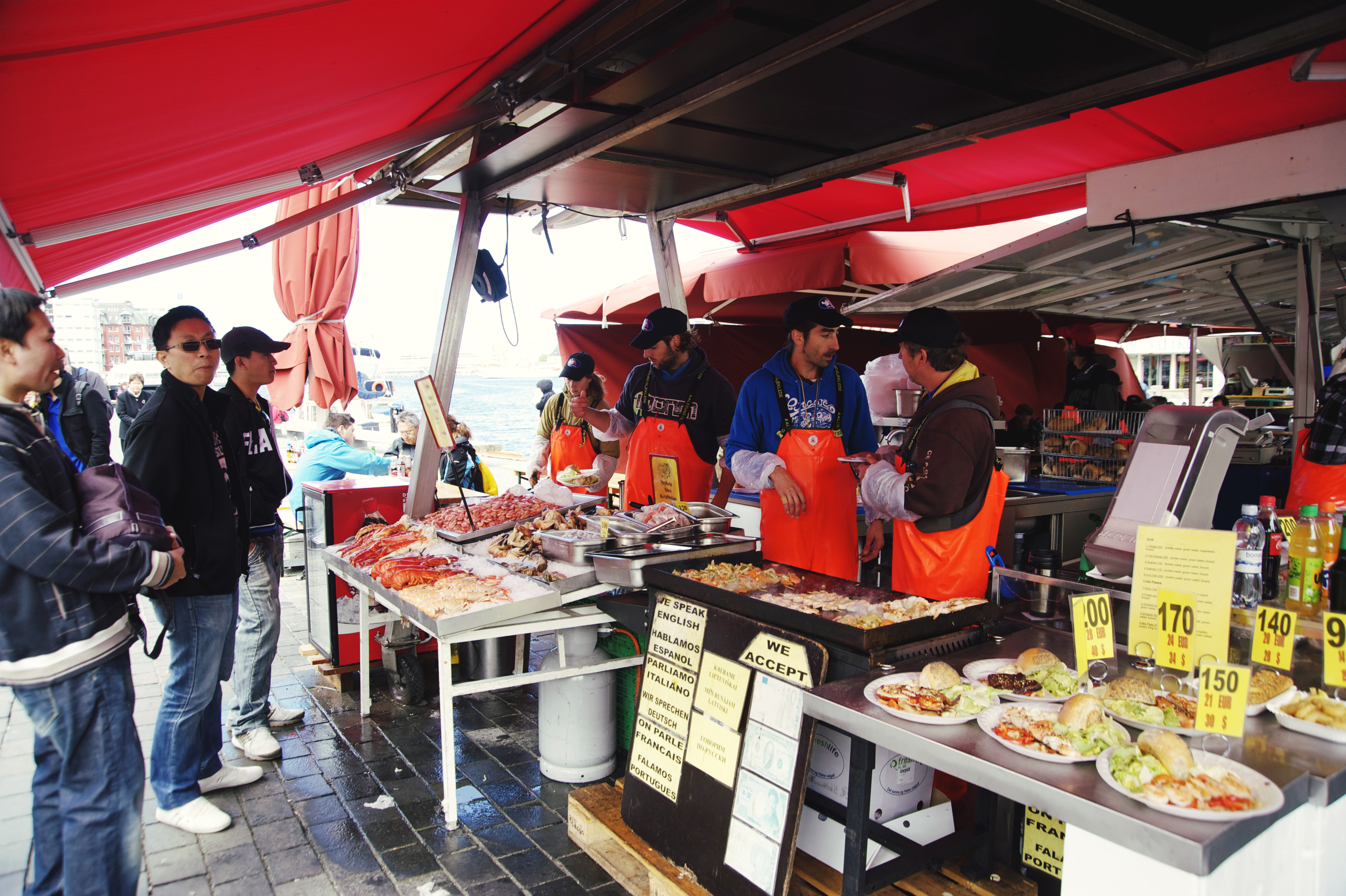 Fish Market in Bergen Norway